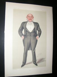 Vanity Fair Print 1880 Vice-Admiral Reginald John Macdonald